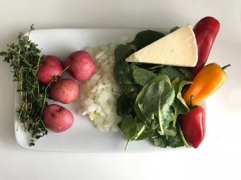 ingredients tortilla